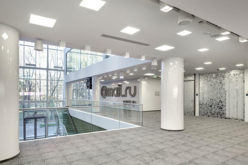 Новый офис Mail.ru Group