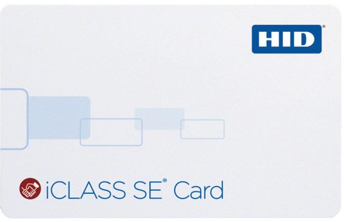 смарт-карты HID iCLASS SE
