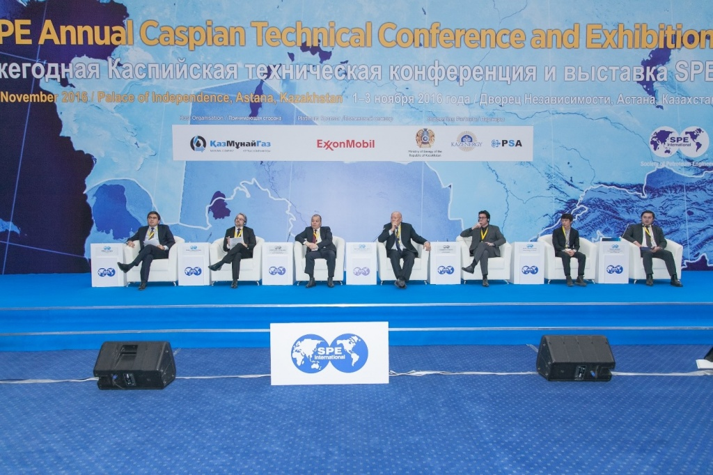 SPE's 3rd annual Caspian Technical Conference and Exhibition 1
